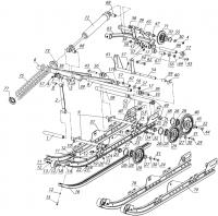 Движитель гусеничный L10200900
